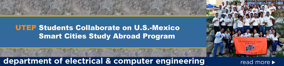 UTEP Students Collaborate on U.S.-Mexico Smart Cities Study Abroad Program